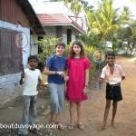 Inde du sud cochin enfants jumeaux
