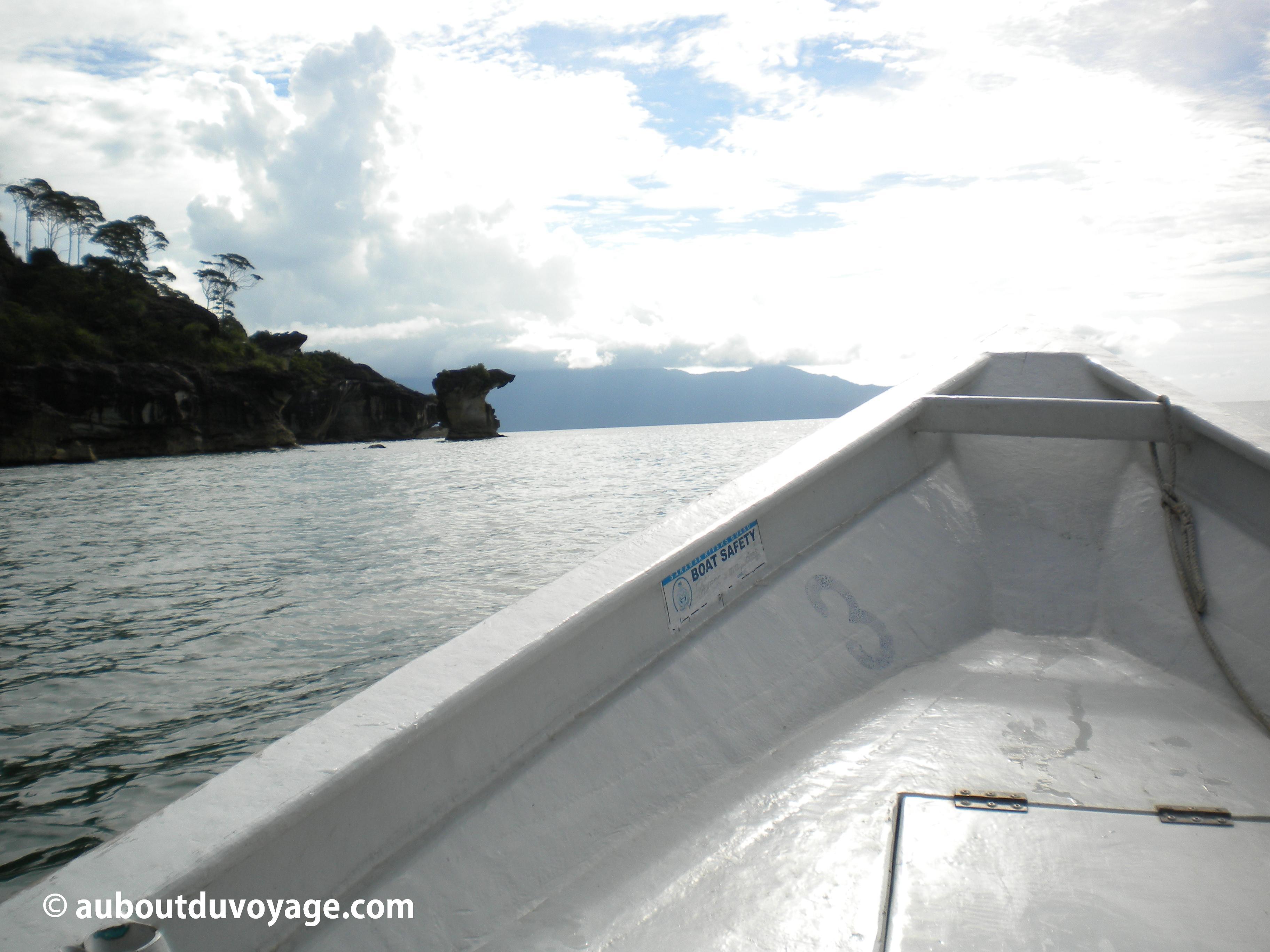 Parc national Bako Bornéo bateau