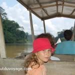 Malaisie bateau jungle jumeaux
