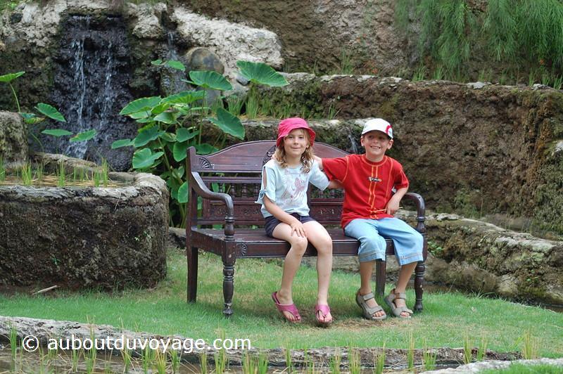 Indonésie Bali Sanur jumeaux