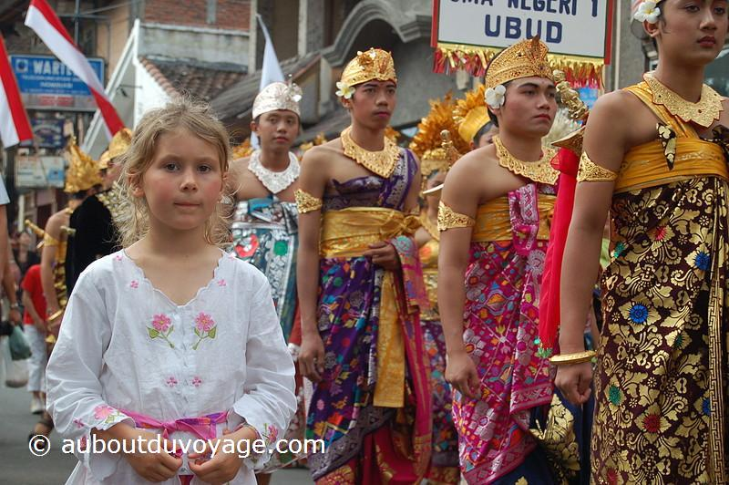 Indonésie Bali Ubud procession Margaux