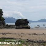 Parc national Bako Bornéo plage