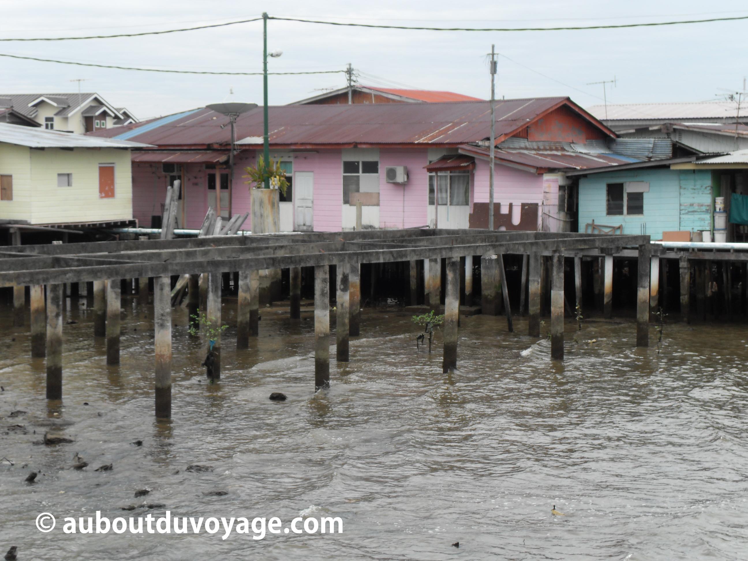 Brunei village flottant