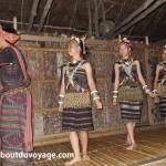 Bornéo Longhouse 2 habitants