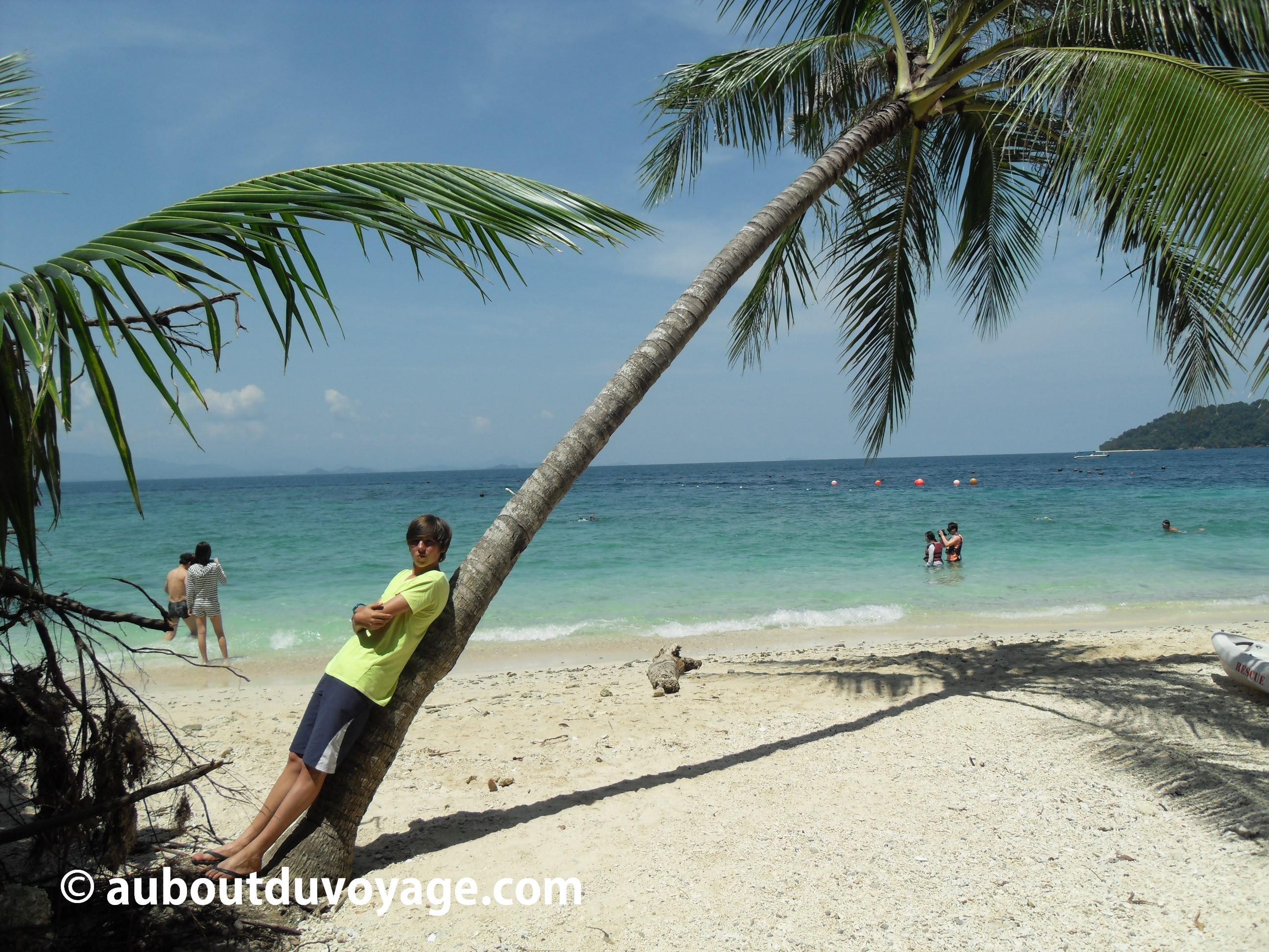 Bornéo Kota Kinabalu iles