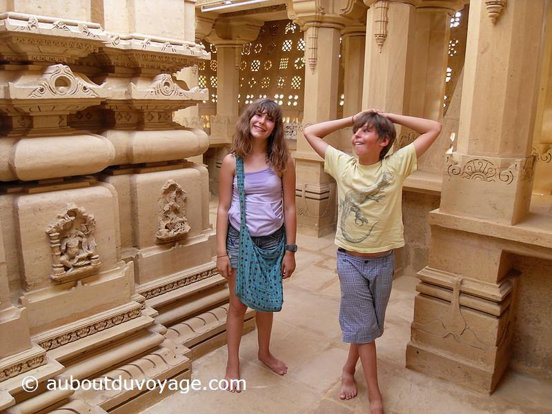 Inde du sud temple jumeaux