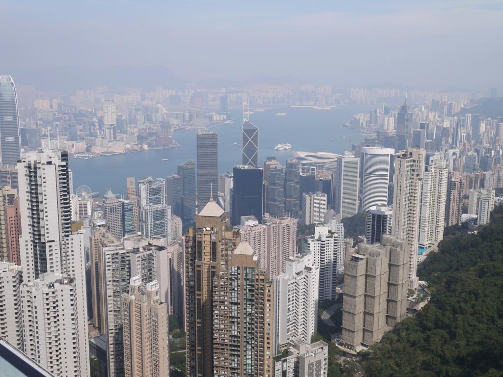 Le fameux peak de Hong-Kong, rien à dire juste époustouflant