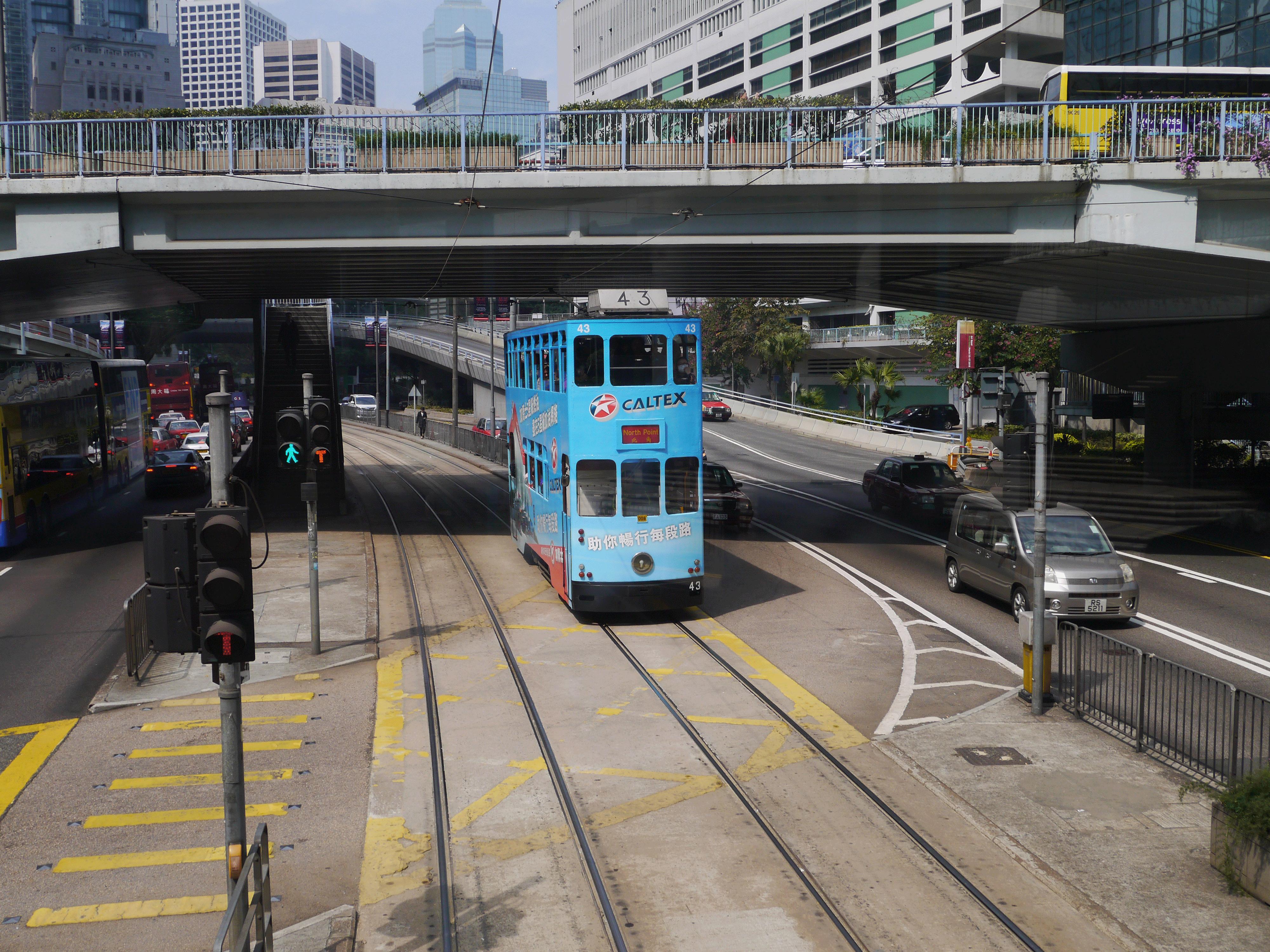 Le tramway à impéraiale un vestige de l'administration britanique