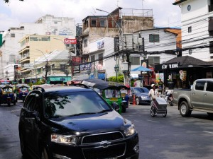Bangkok , à quelques pas des quartiers d'affaire