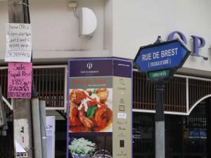 rue de Brest a Bangkok