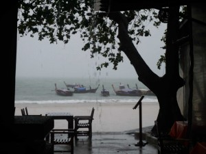 Quand il pleut ici, il pleut...