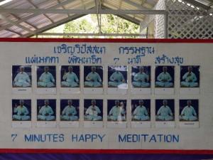 N'oublions pas la méditation